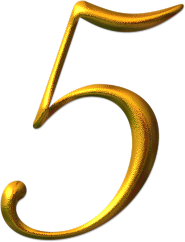 Gold 5 png. Image number a n