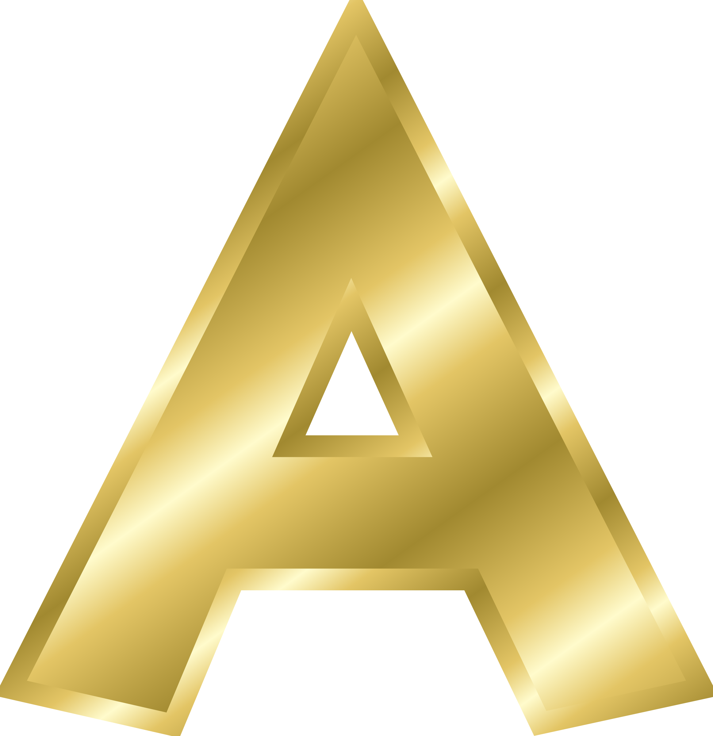 Gold letters png. Letter image purepng free