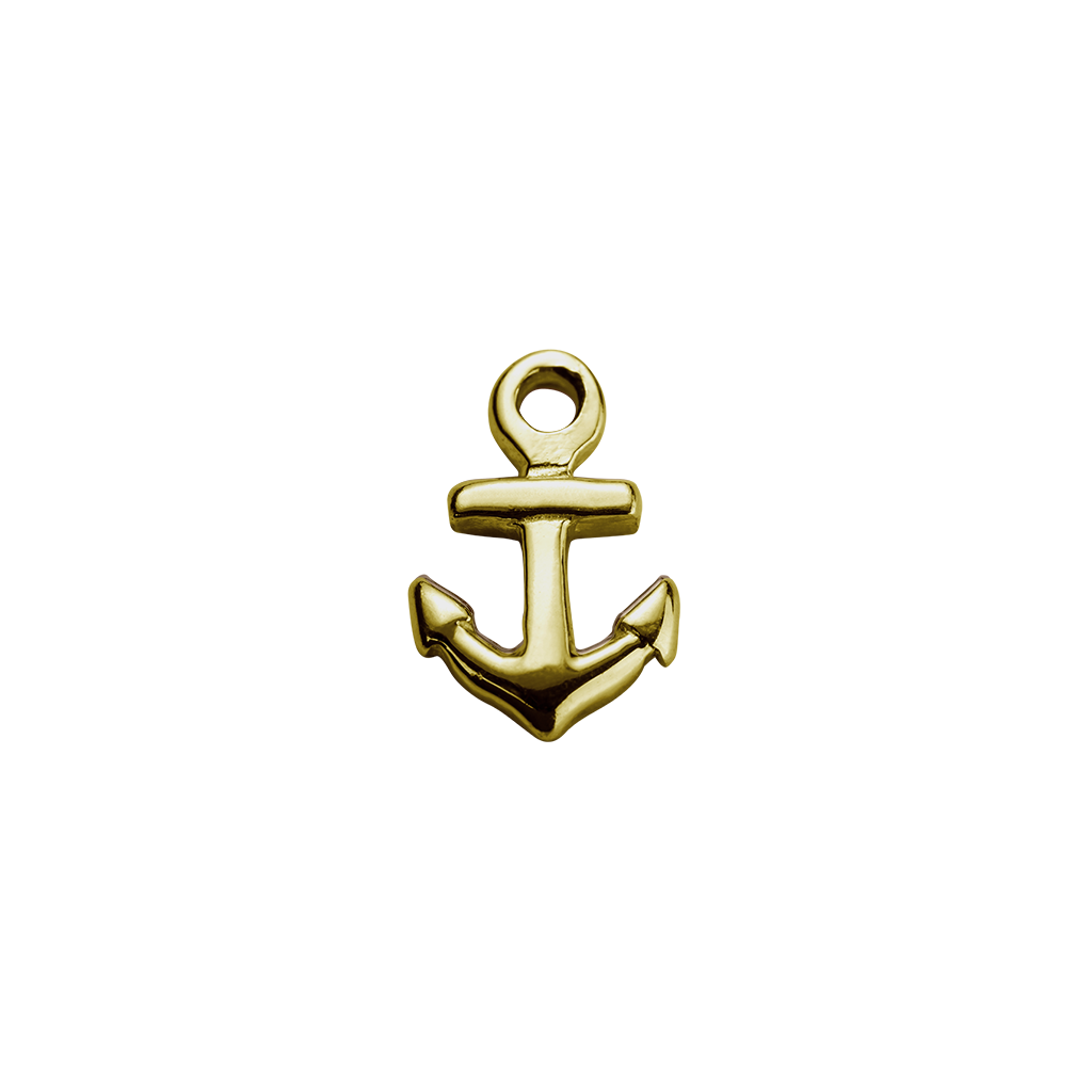 Gold anchor png. Strength charm stow lockets