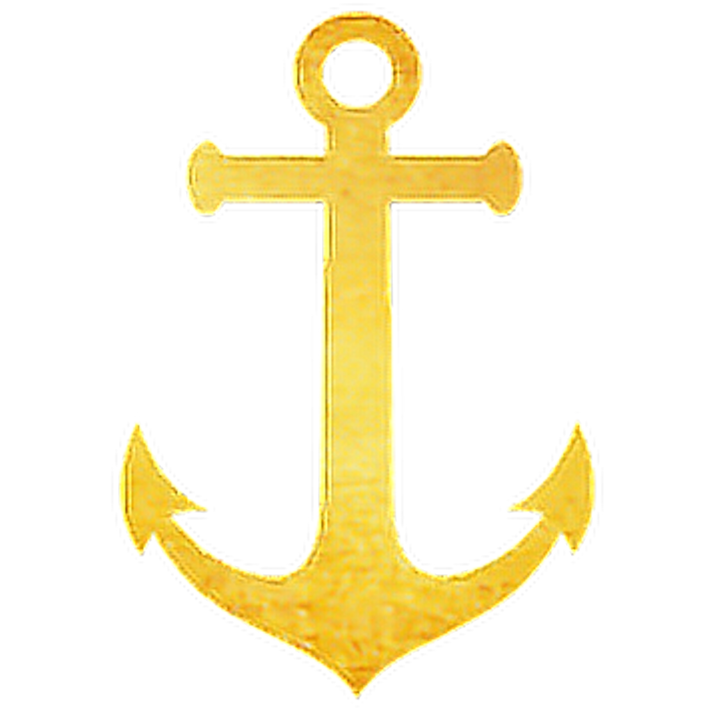Gold anchor png. Navy glitter freetoedit