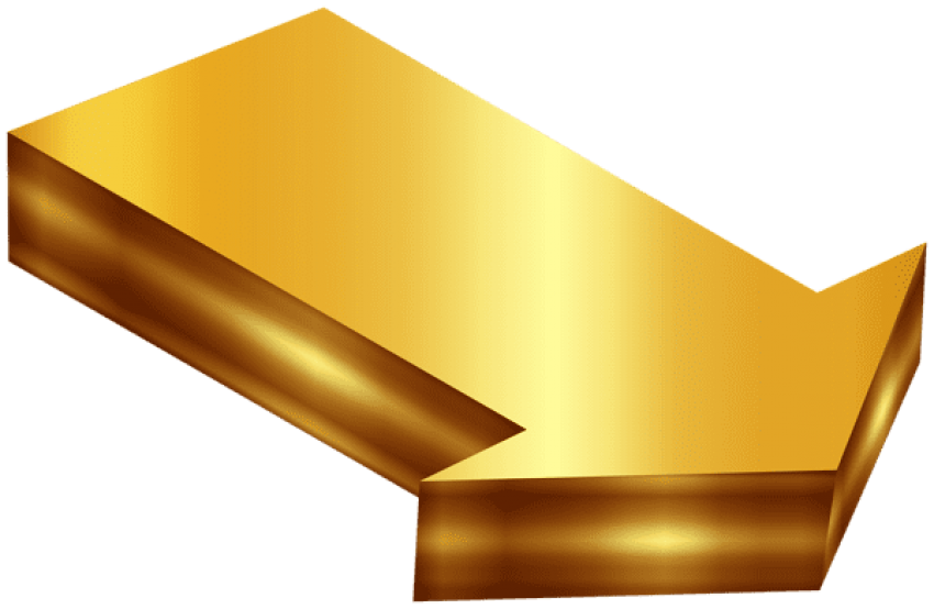 Gold stairs png. Download arrow clipart photo