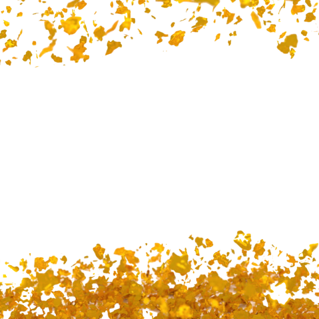 Free gold png backgrounds. Flakes background foils leaves