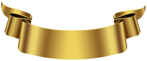 gold banner png