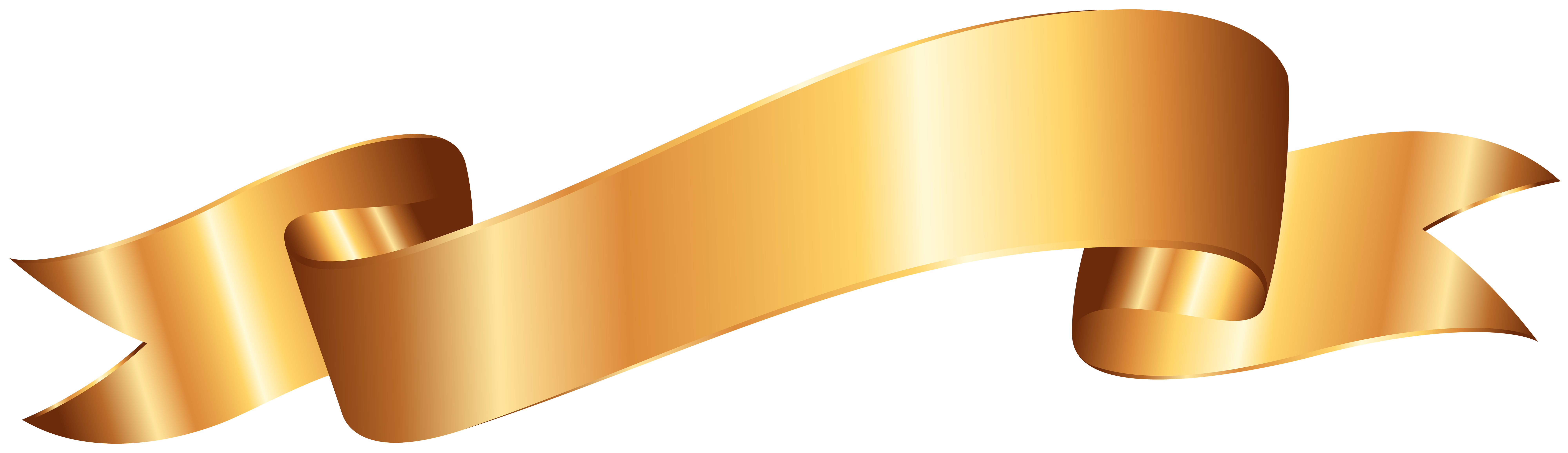 Gold banner png. Clip art image gallery