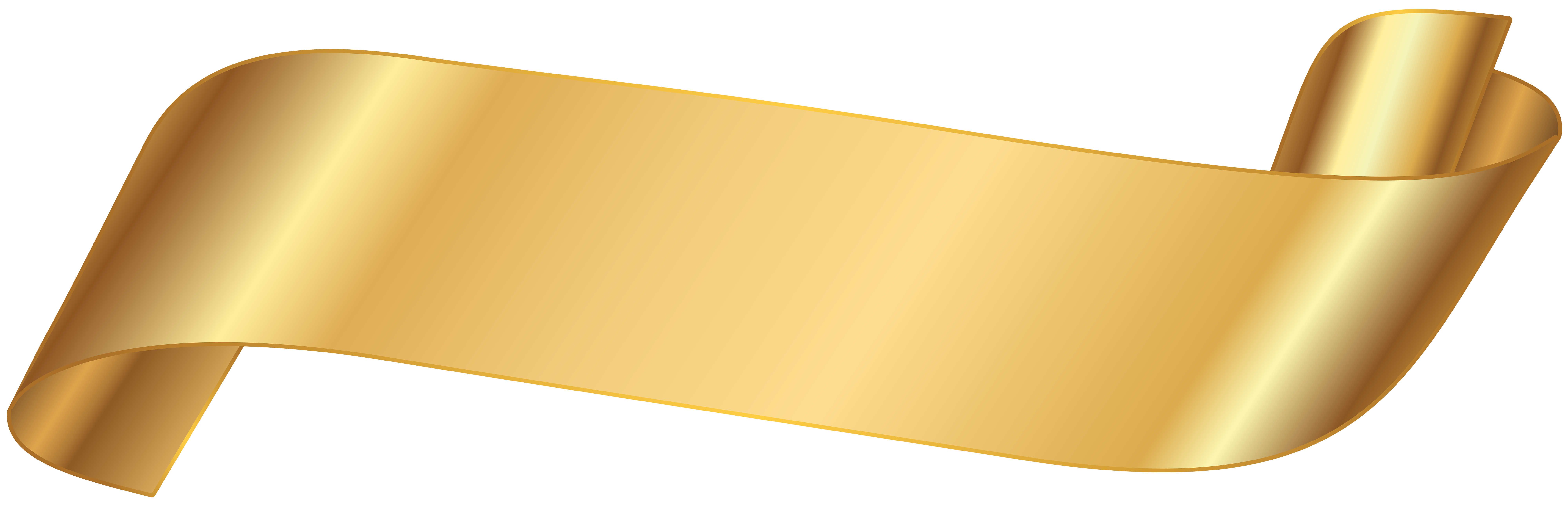 Gold banner png. Transparent image gallery yopriceville