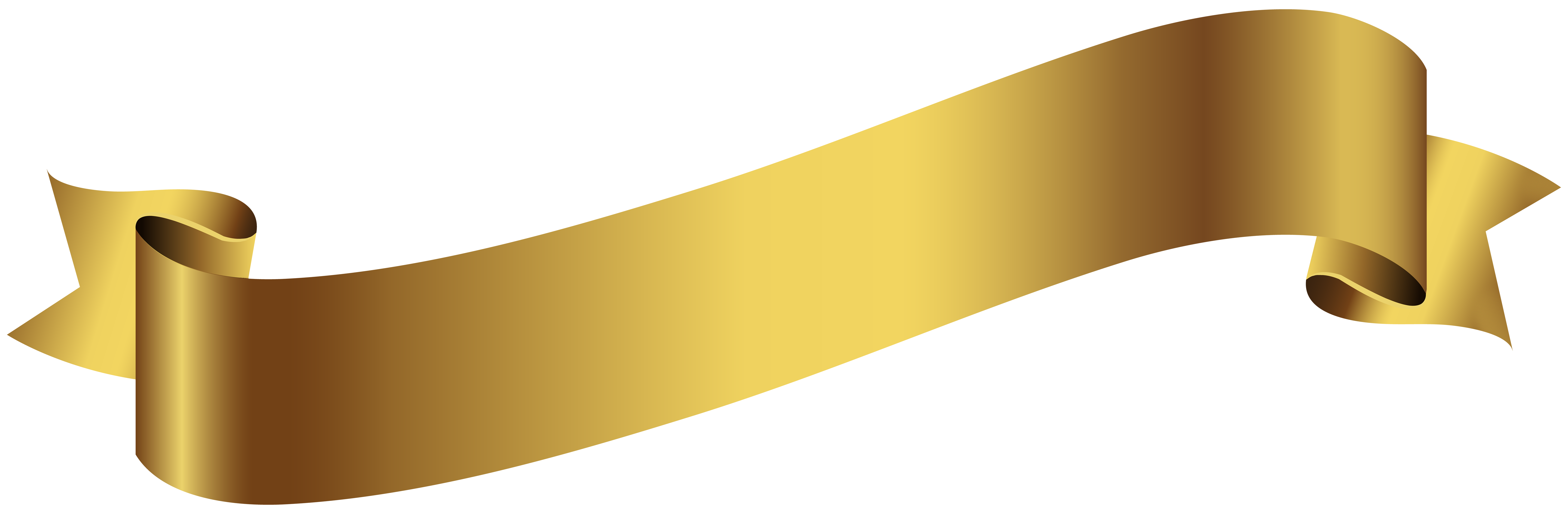 Gold banner ribbon png. Transparent image gallery yopriceville