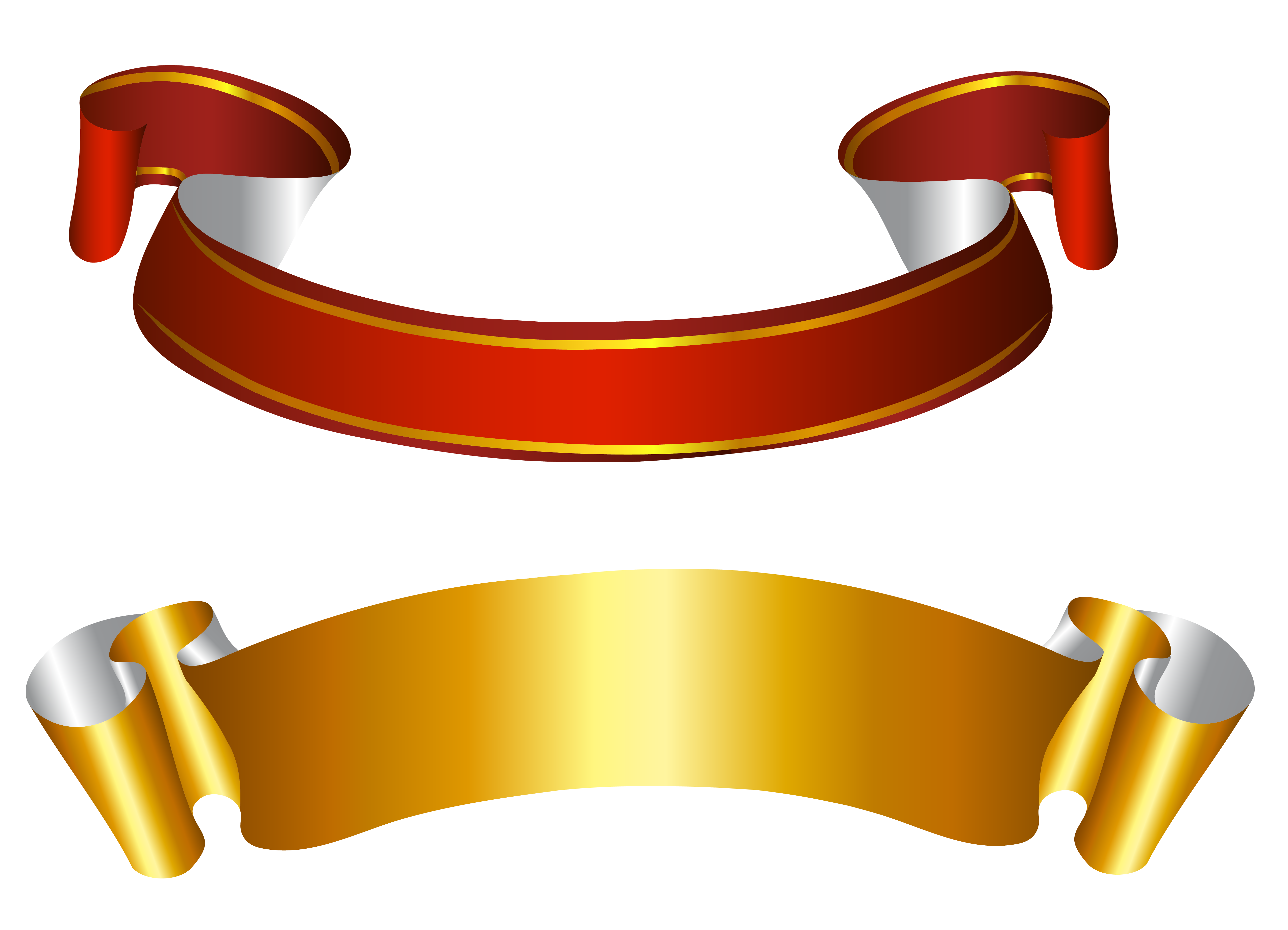 leather vector ribbon