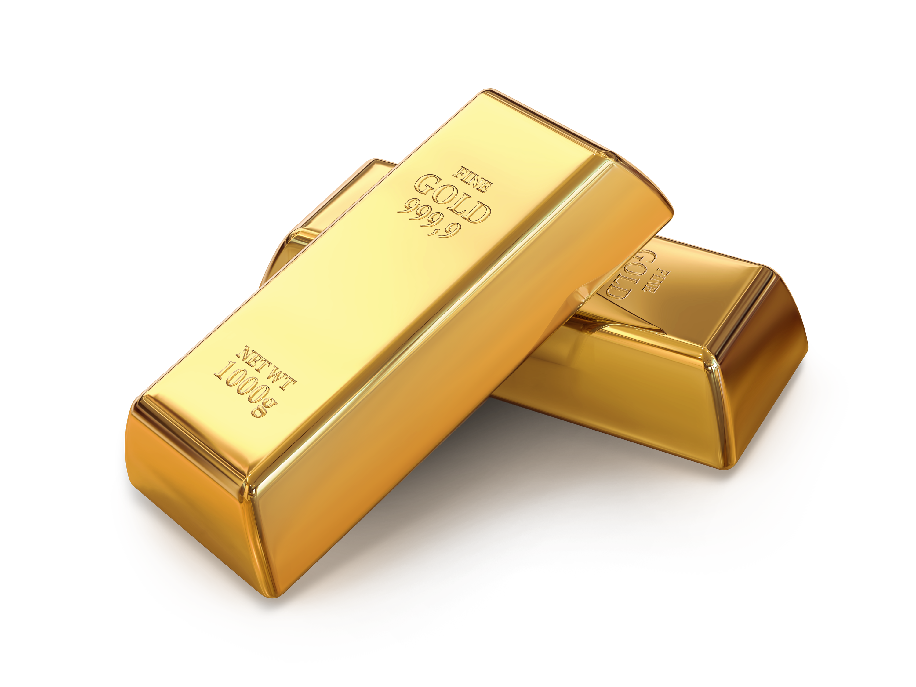 Gold png. Two bars image purepng