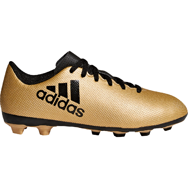 Gold boots png. Adidas x fxg firm