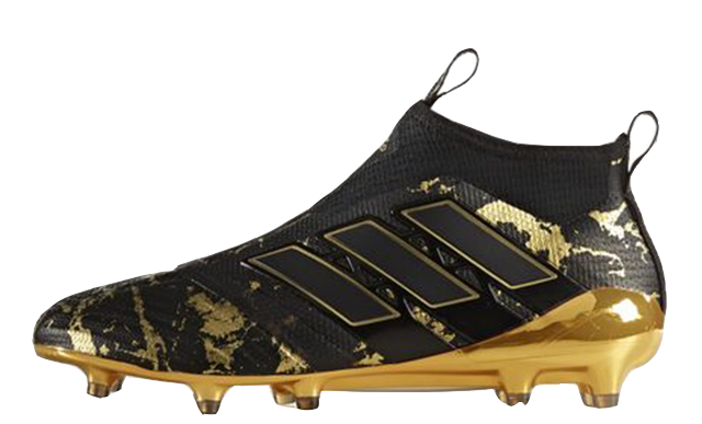 Gold boots png. Adidas ace purecontrol paul