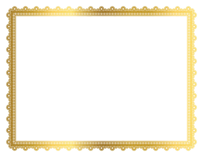 Gold border png. Frame free images toppng