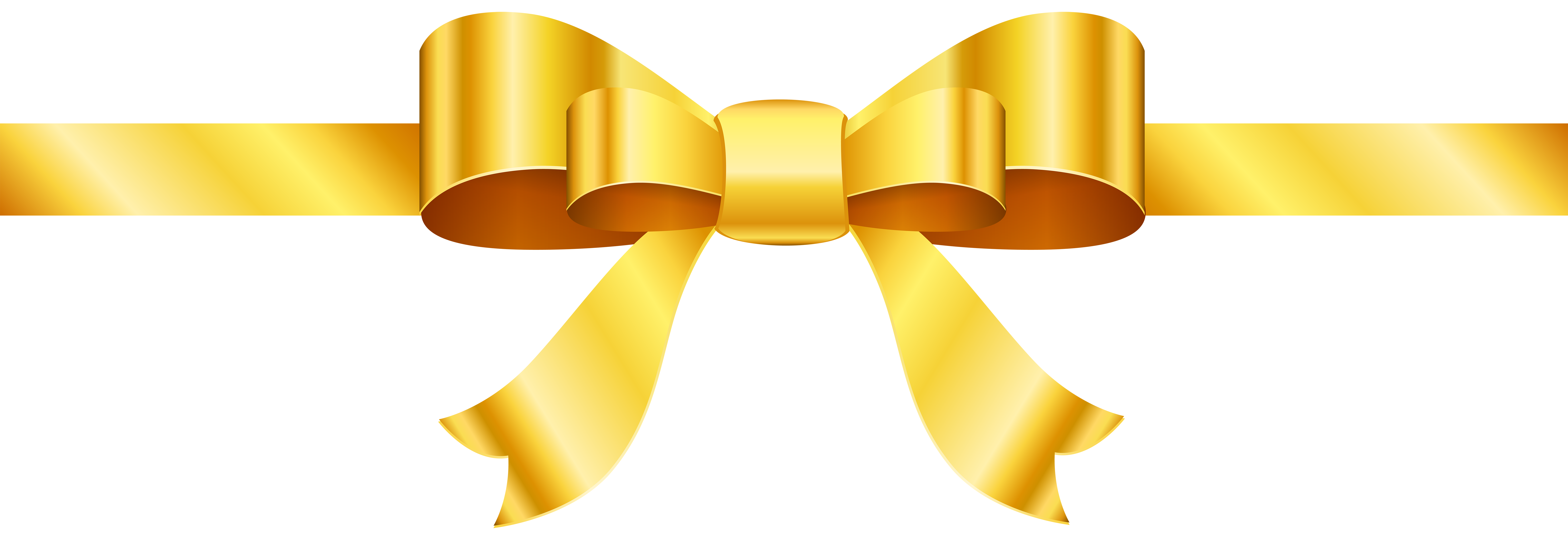Gold bow png. Clip art image gallery