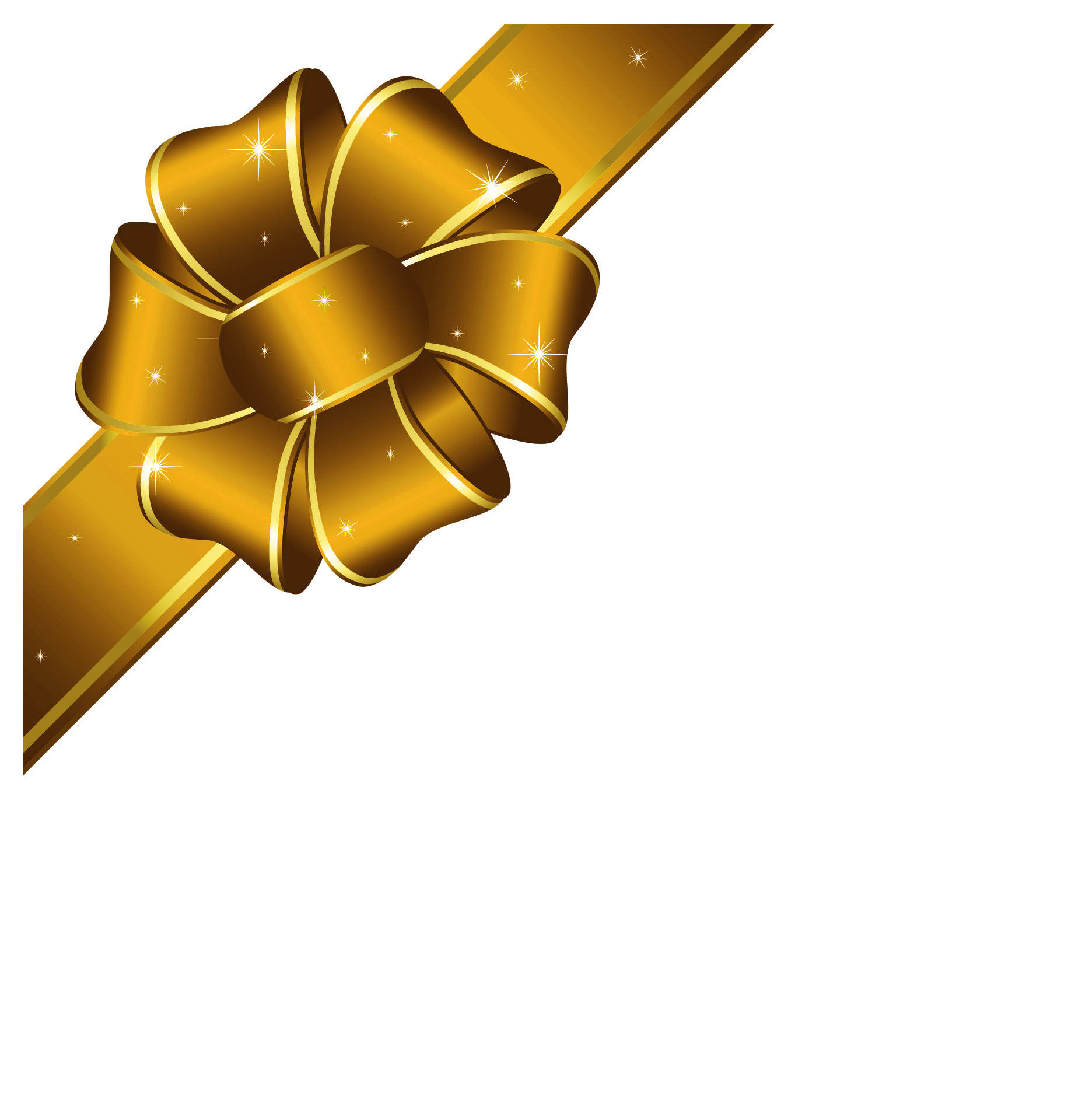 Gold bow png. Christmas lacalabaza clipart kid