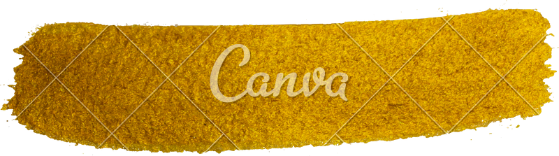 Gold brush stroke png. Metallic photos by canva