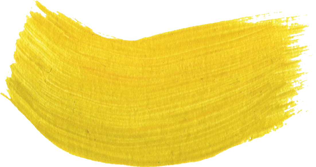 Gold brush stroke png. Paint transparent images yellow