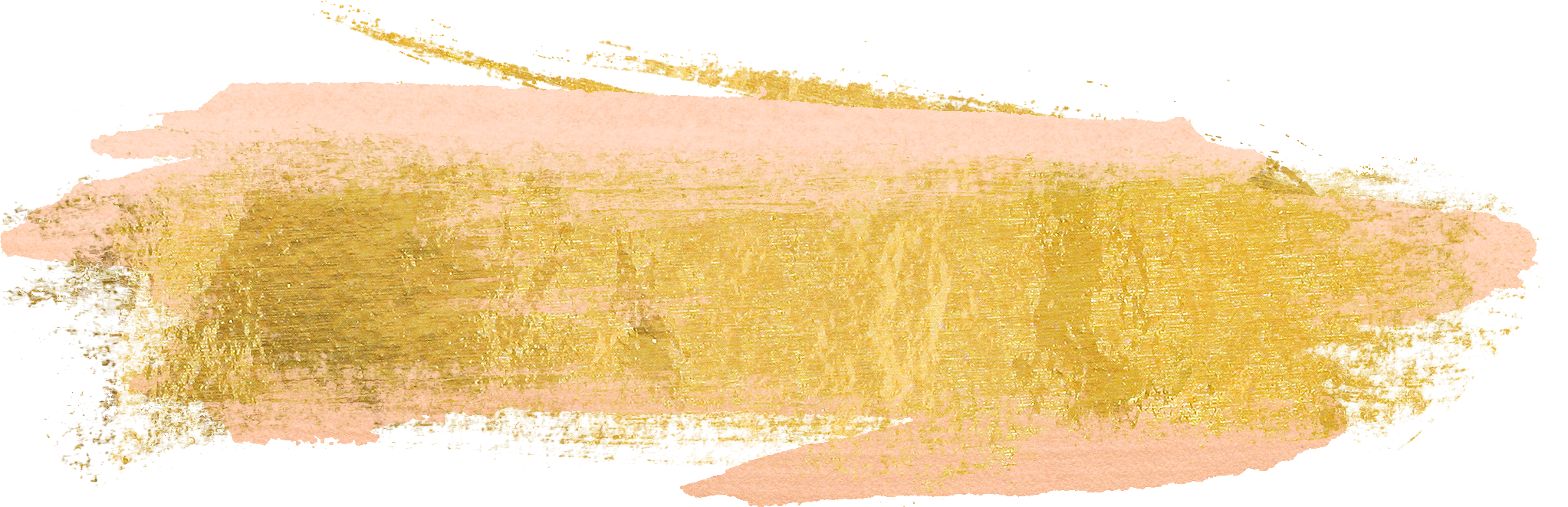 Gold brush stroke png. Free paint strokes cu