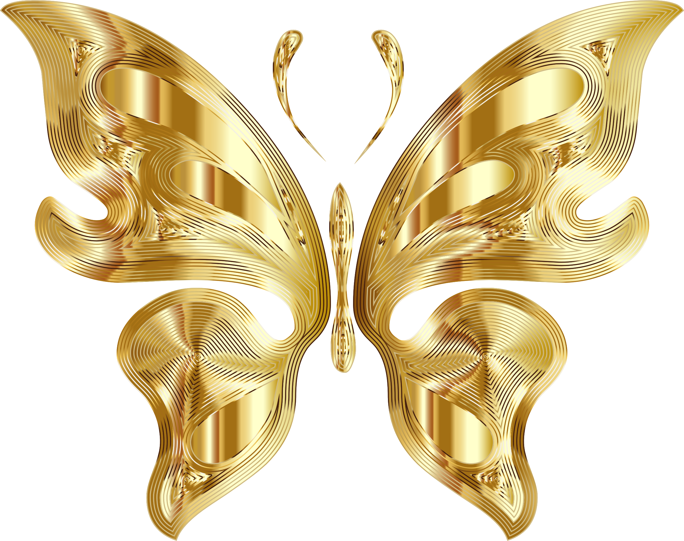Gold butterflies png. Prismatic butterfly variation no