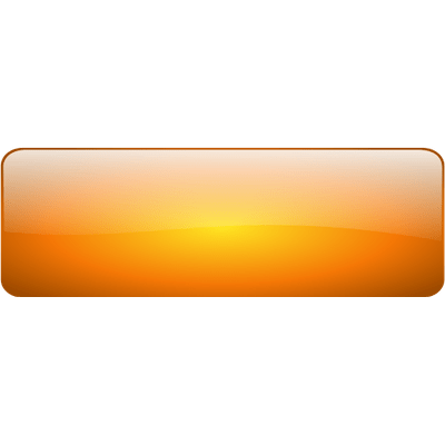 Orange button png. Large gold with border