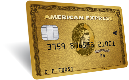 Gold card png. American express