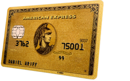 Gold card png. American express product detail