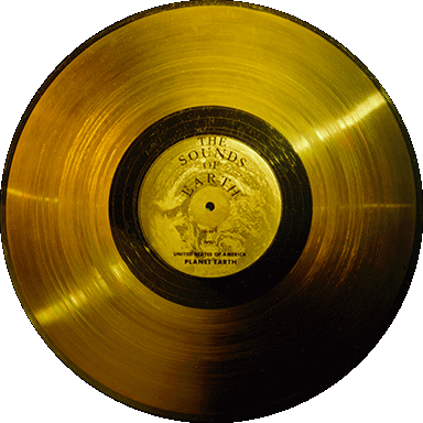 Gold cd png. Gentes donorte record voyager