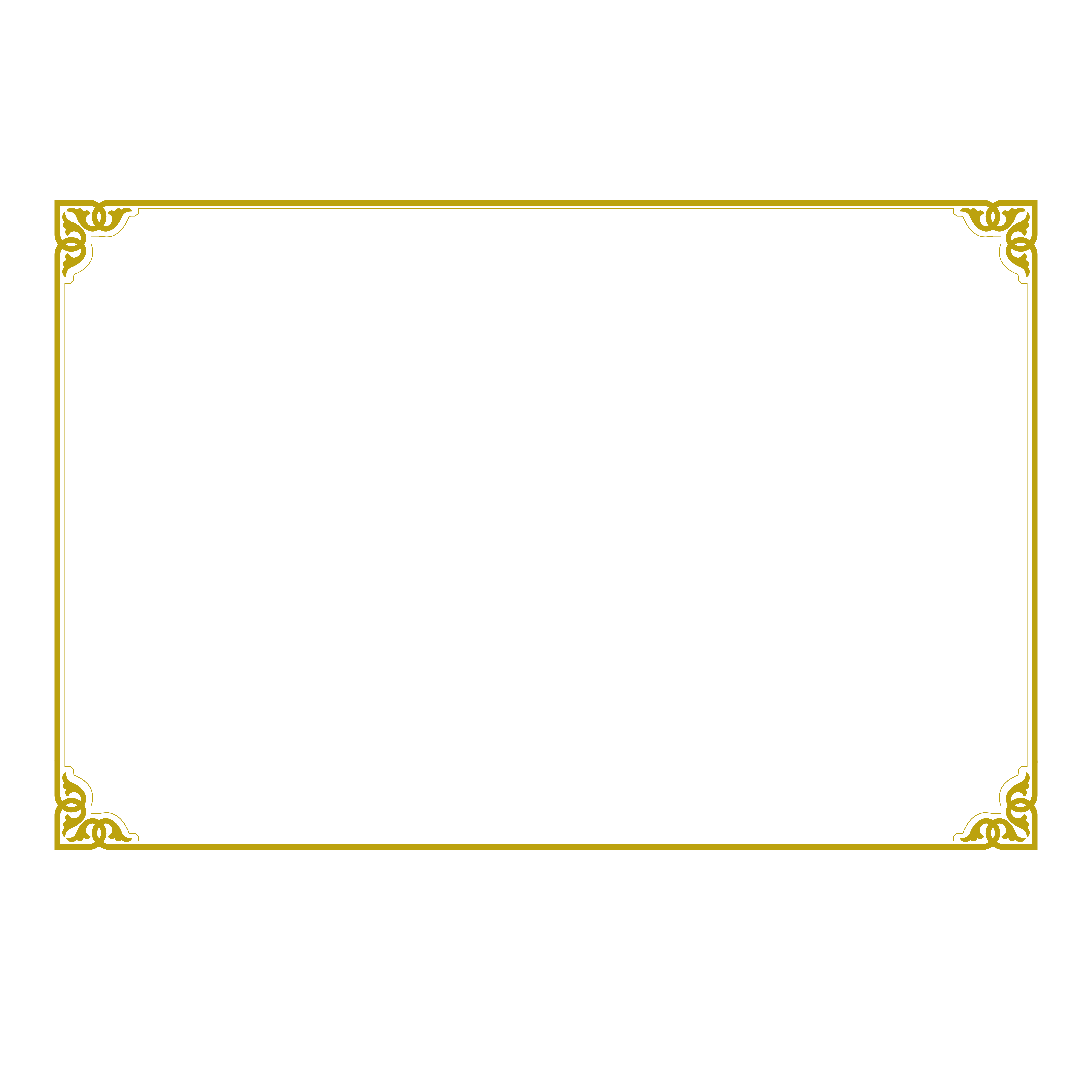 Gold certificate border png. Download angle icon transprent