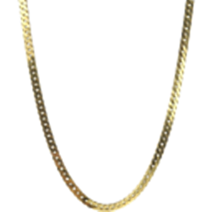 Swag transparent gold chain. Background neck l roblox