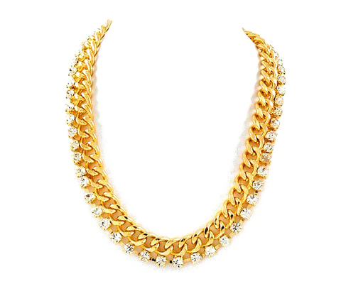 Gold chain vector png. Picture peoplepng com
