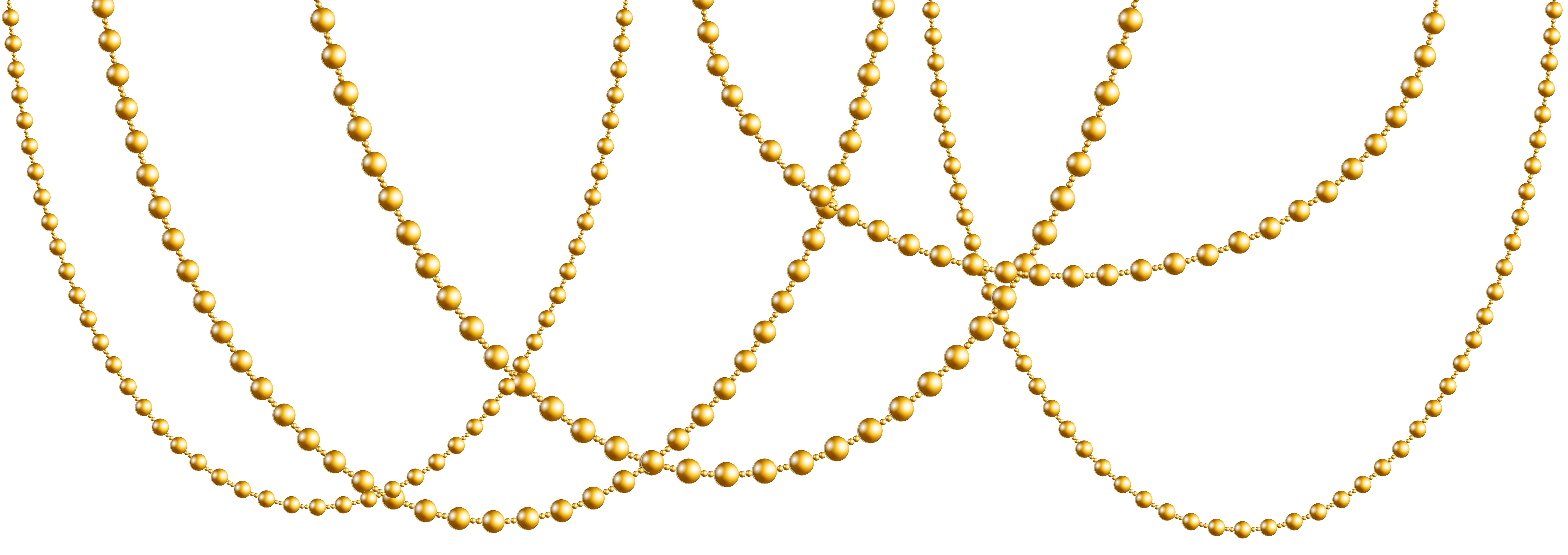Gold chain vector png. Necklace clipart at getdrawings