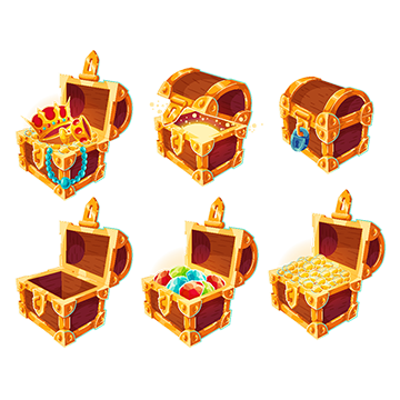 Gold chest png. Vectors psd and clipart