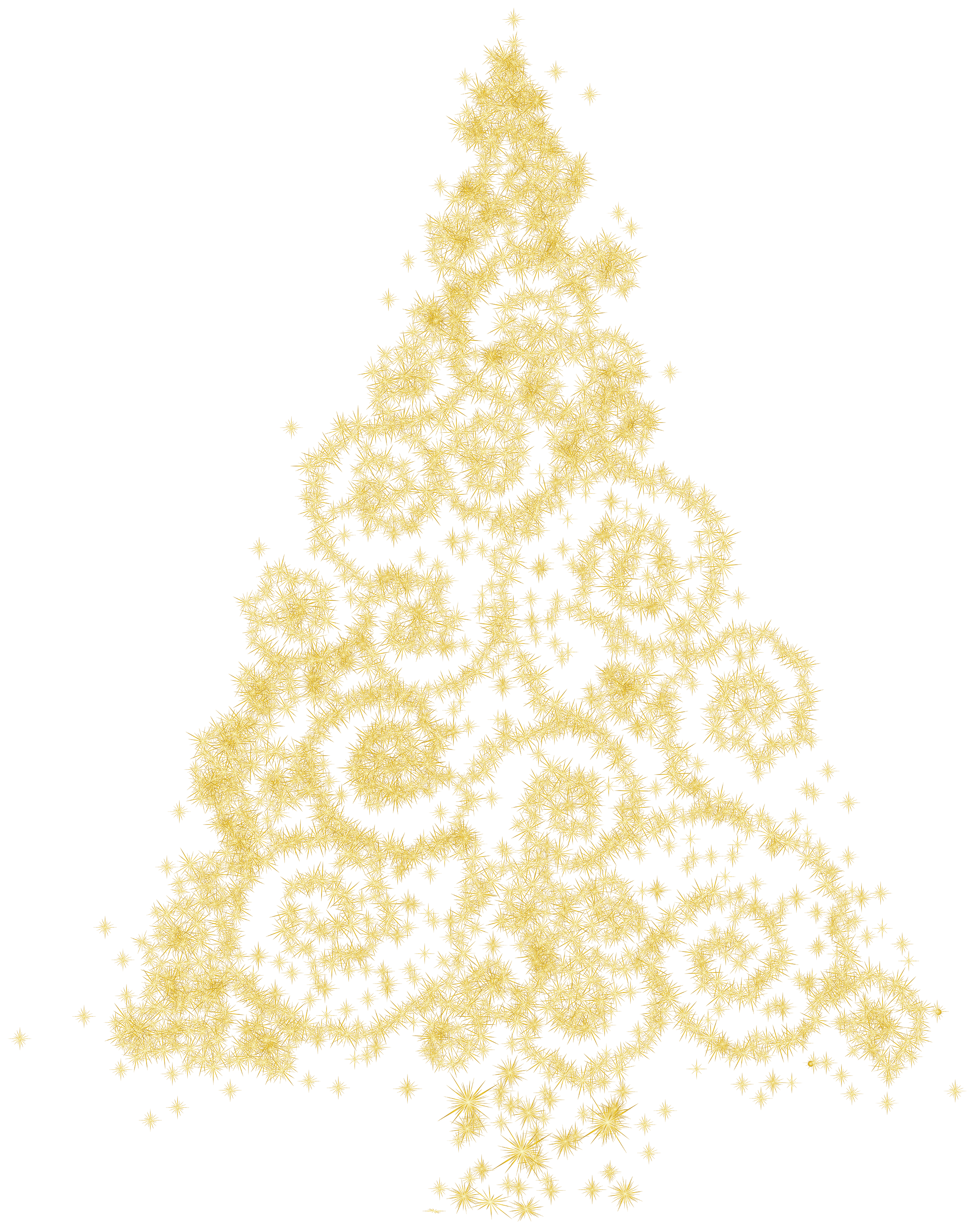 Christmas tree png clip. Glitter clipart gold abstract vector library