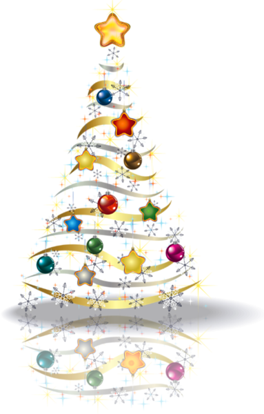 Gold christmas tree png. Transparent picture bo e