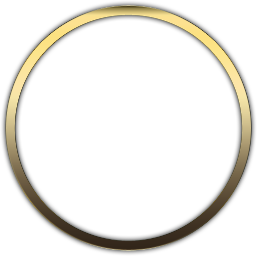 Gold circle png. Psd official psds