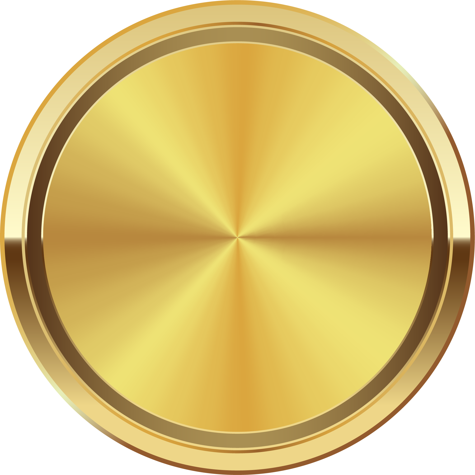 Gold circle png. Golden disk hand painted
