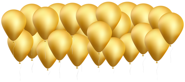 Gold ballon png