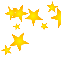 vector sparkles 4 pointed star
