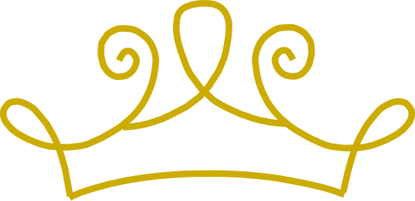 Crown library golden cliparts. Gold clipart clip art image freeuse library