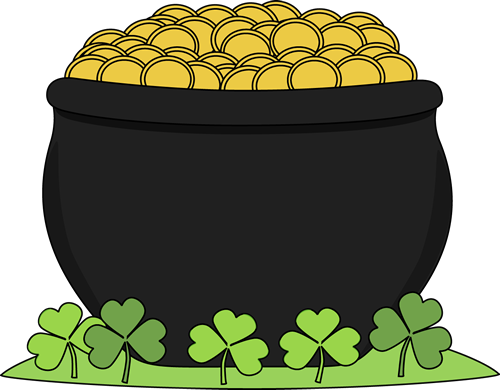 Gold clipart clip art. Pot of panda free