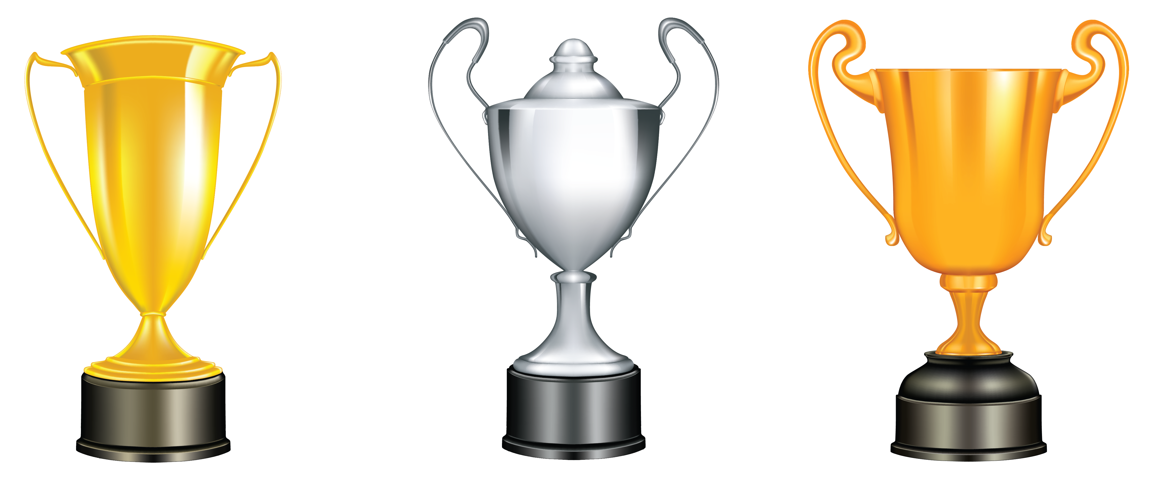 Bronze trophies png gallery. Gold clipart gold silver vector freeuse library