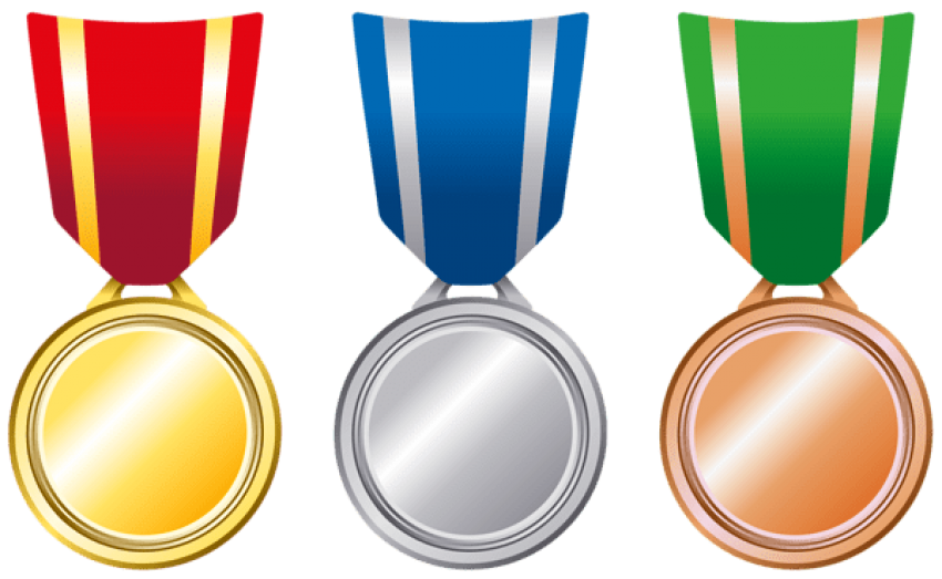 Download transparent bronze medals. Gold clipart gold silver graphic freeuse