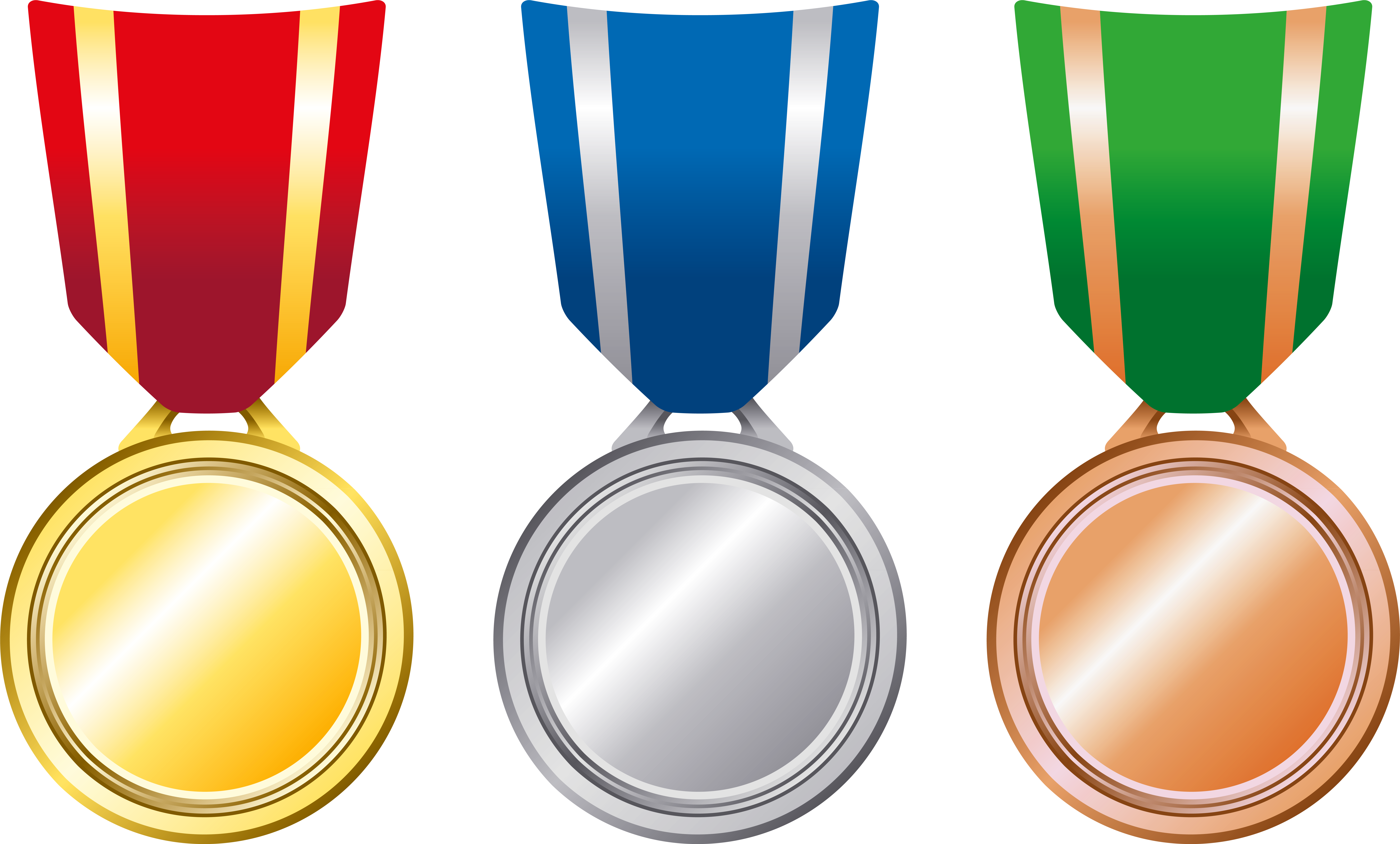 Gold clipart gold silver. Bronze medal x