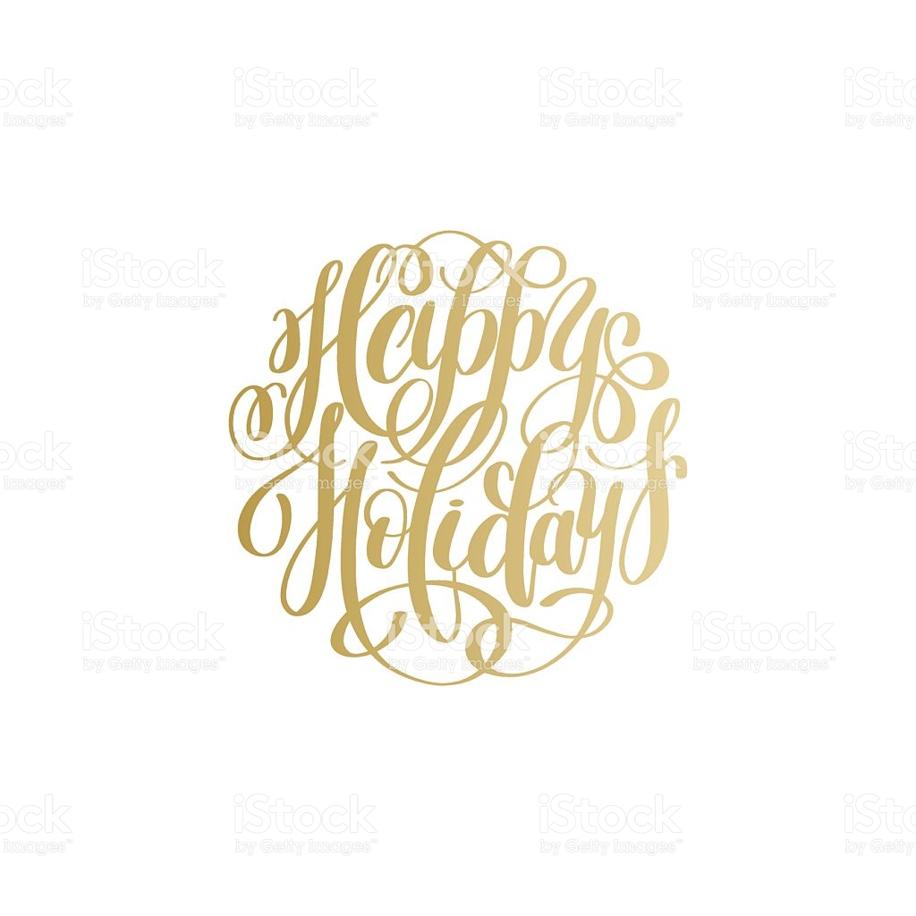 gold clipart holiday