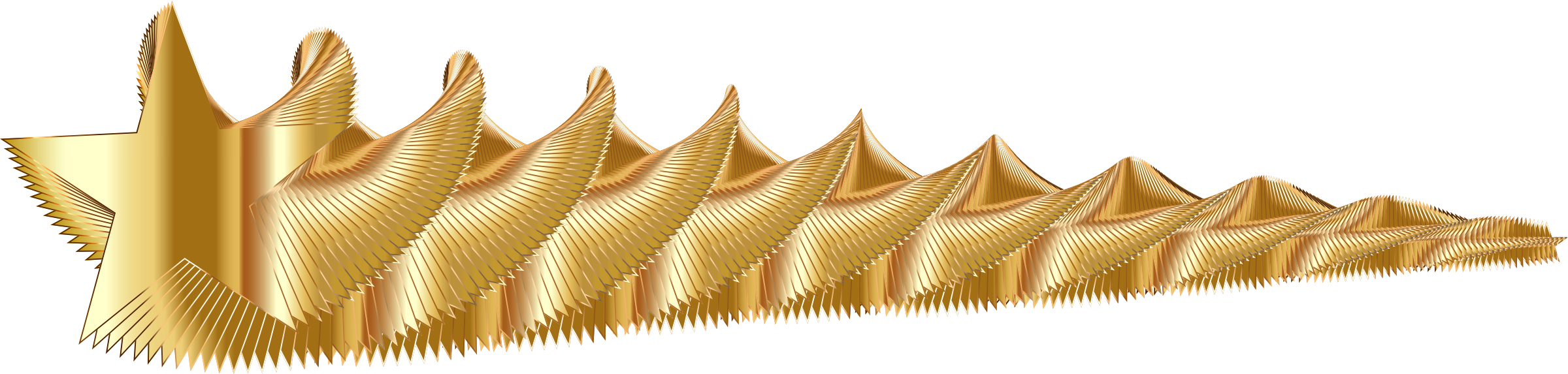 Gold clipart shooting star. Golden big image png