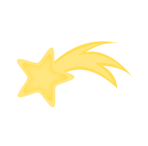 Gold clipart shooting star. Free graphic download clip