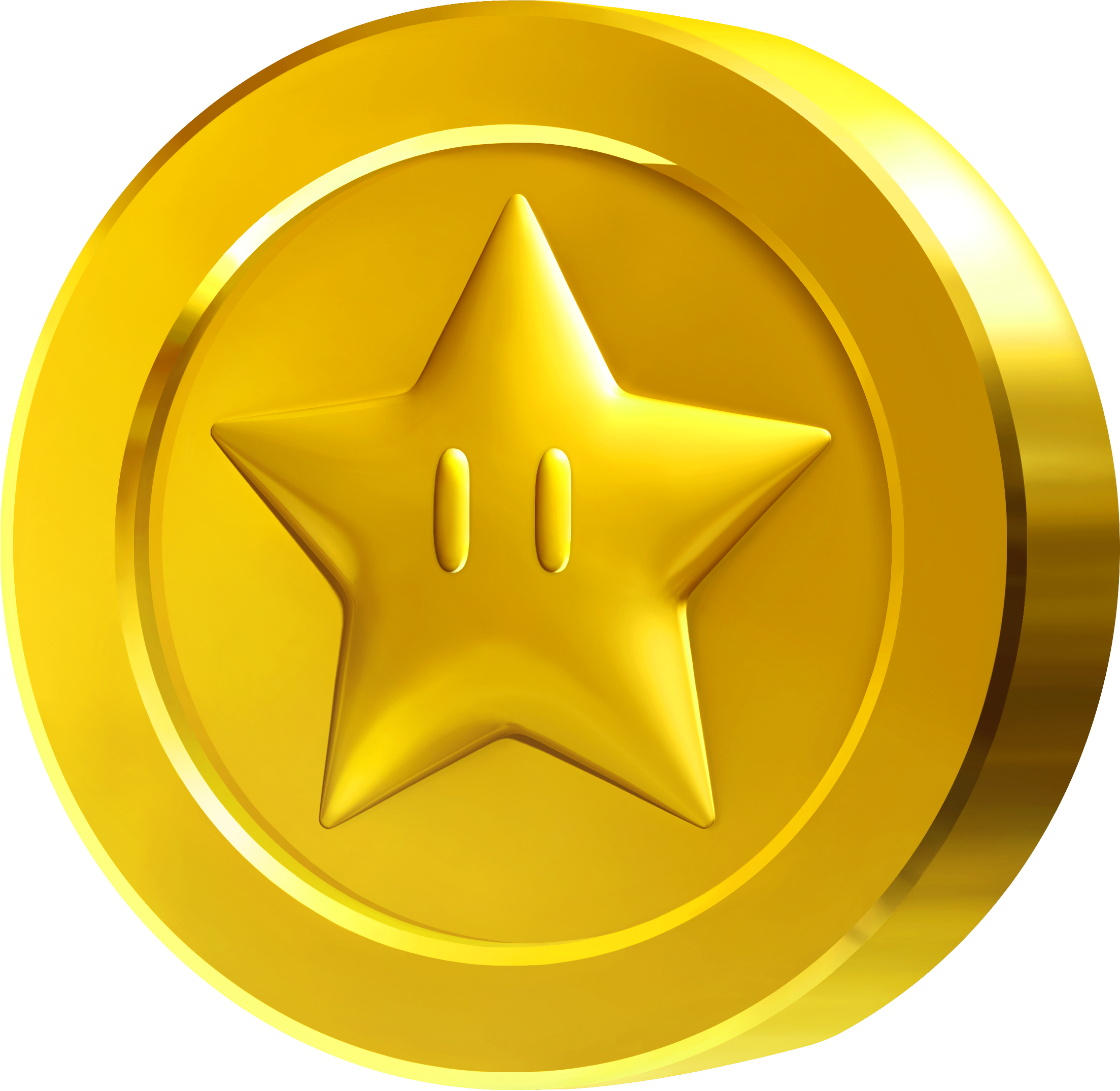 Drawing gold coin. Google game ui icon