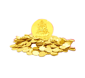 Falling gold coins png. Silver and coin images