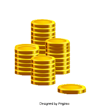 Vector coins gold. Coin vectors free download