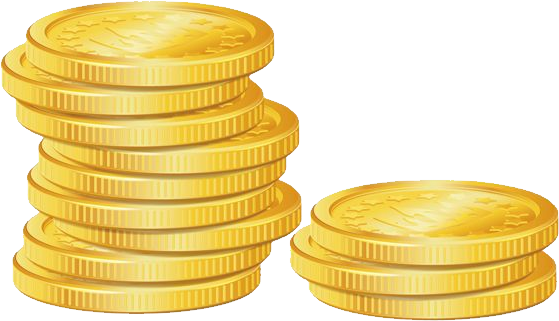 Gold coins clipart png. Coin hd transparent images