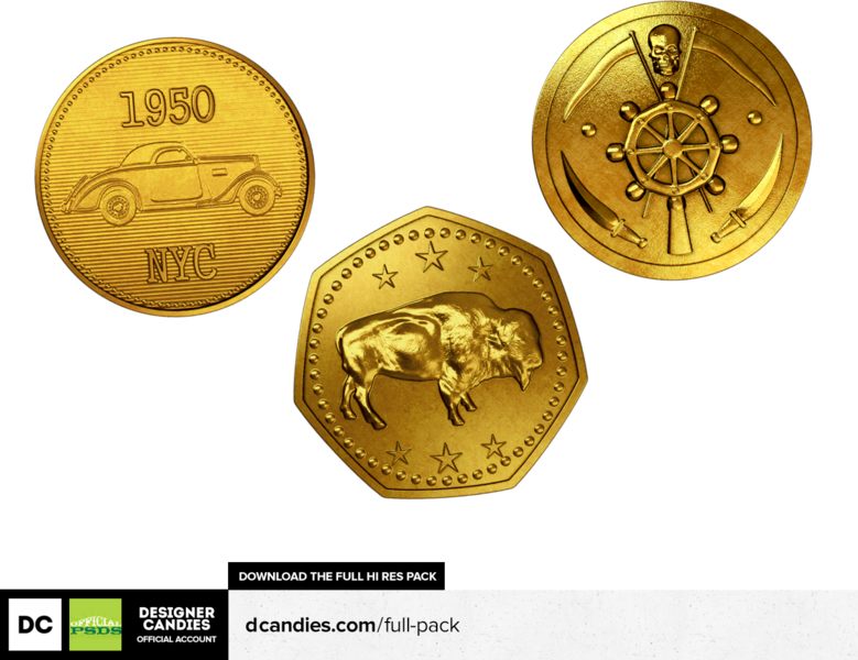 Gold coins falling png. Free money renders by