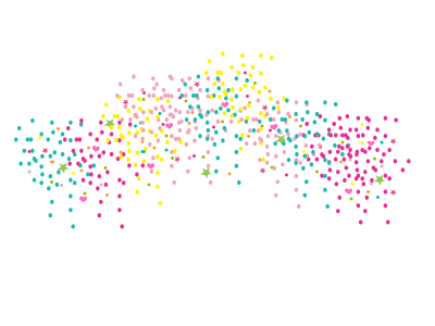 Sprinkles falling png. Download confetti free transparent